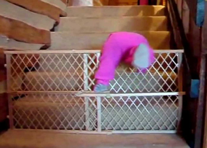 See How These Trained Babies Escape From Their Cribs