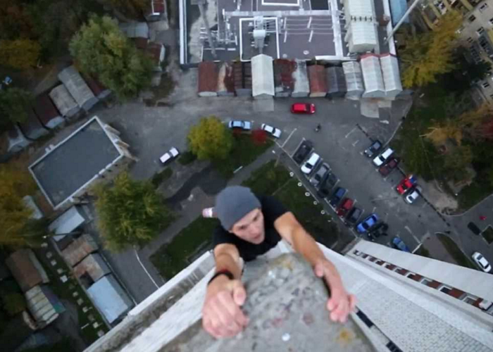 Don't Watch This If You Are Really Afraid Of Heights!