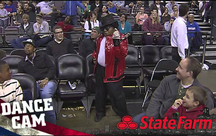 Watch How This Guy Shows Off His Dance Moves For the State Farm Dance Cam