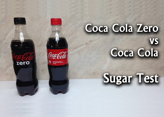 This Is A Difference Between A Regular Coca Cola And A Coca Cola Zero
