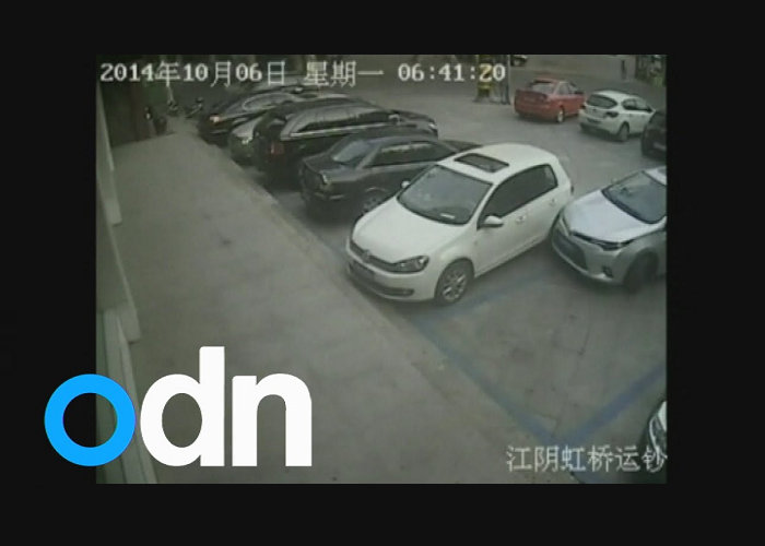 This Man Repeatedly Hits A Parked Car While Reversing Out Of A Space