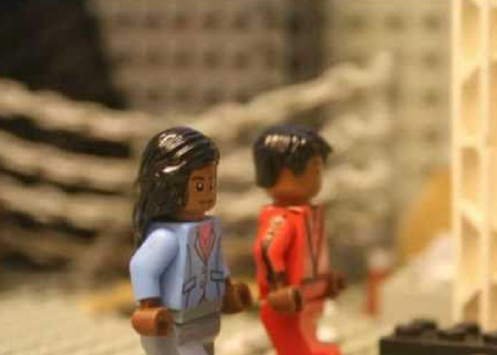 "This Is An Amazing Tribute To Michael Jackson's ""Thriller"" In LEGO"