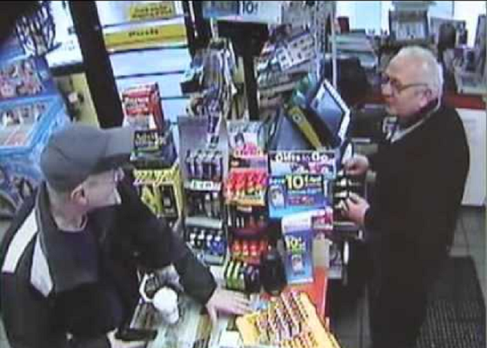 Is This The Most Polite Robbery Ever Caught On CCTV?!