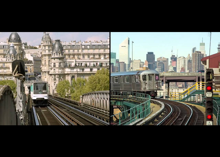 See The Differences Between Paris And New York