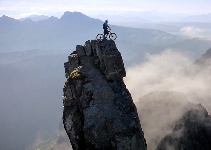 Watch The Most Dangerous Mountain Biking Ever By Danny Macaskill