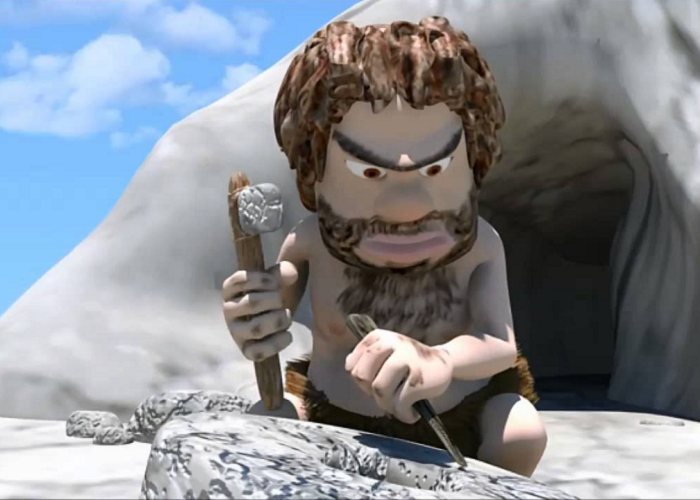 Watch Cavemen, A Funny 3D Short Animation