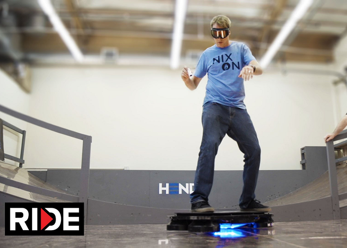 Look At The World's First Real Hoverboard - Hendo Hover