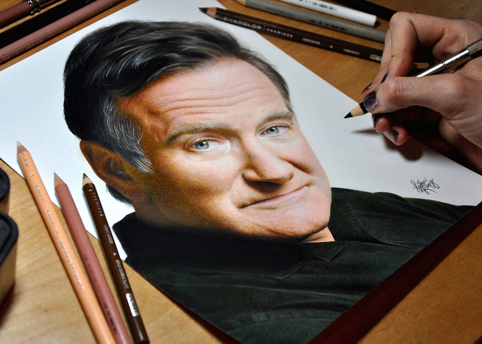 See This Amazing Drawing In Memory Of Robin Williams