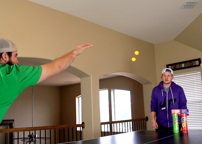 Watch These Awesome Ping Pong Trick Shots