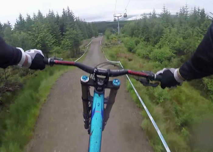 Watch This Awesome Downhill Mountain Biking By Claudio Caluori