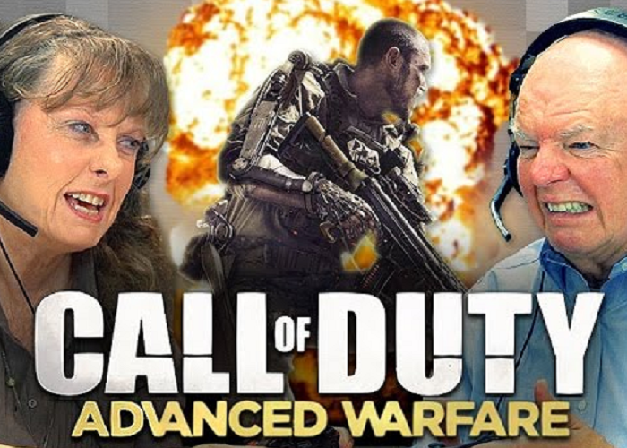 "See The Elders Reaction When They Play ""Call Of Duty"""