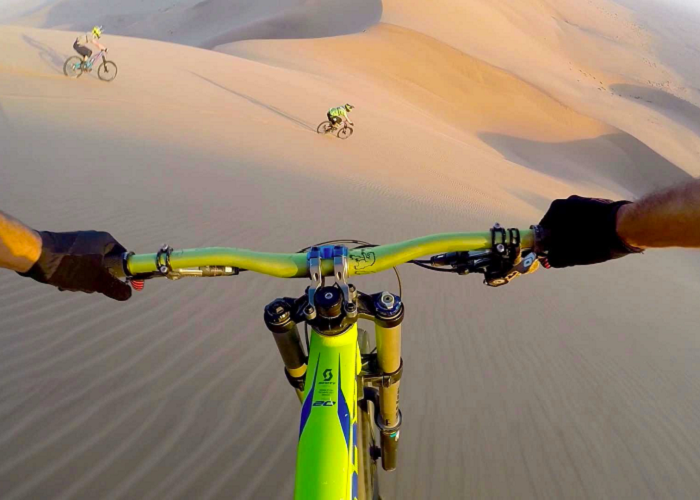 This Is An Amazing Downhill Mountain Biking In The Wilds Of Africa