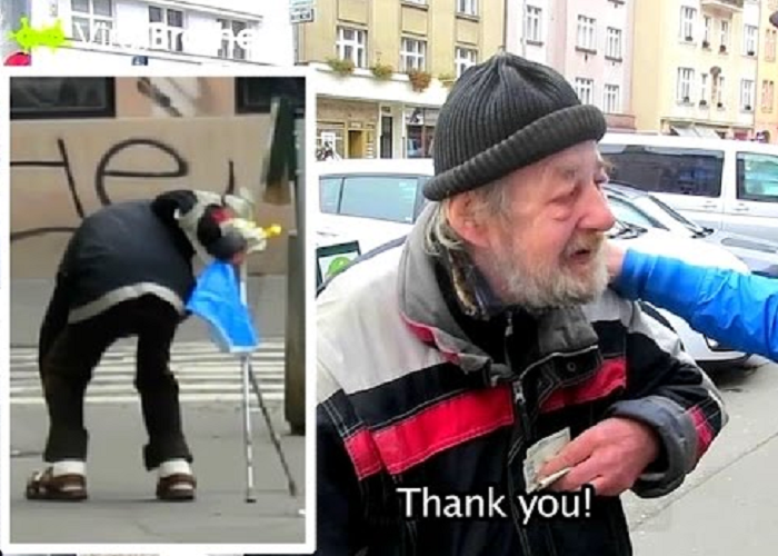 This Homeless Gets $1000 As A Reward For His Honesty