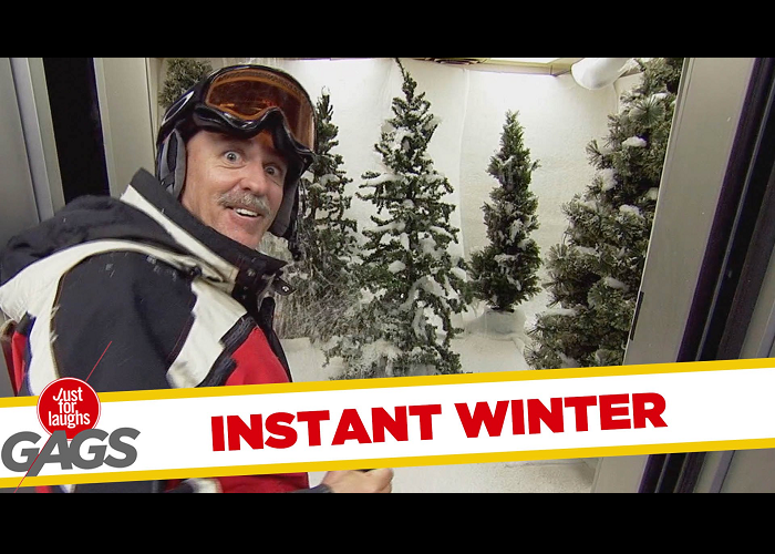See The Instant Winter Prank