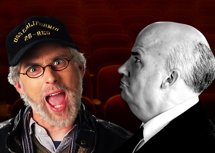 Watch Steven Spielberg vs Alfred Hitchcock In The Epic Rap Battles Of History