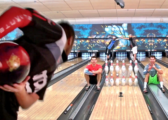 Sit Back And Enjoy These Amazing Bowling Trick Shots