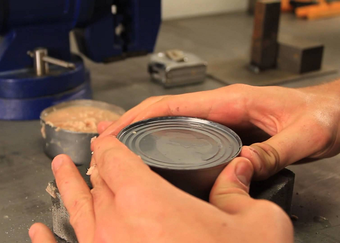 Learn How To Open A Can Without Can Opener