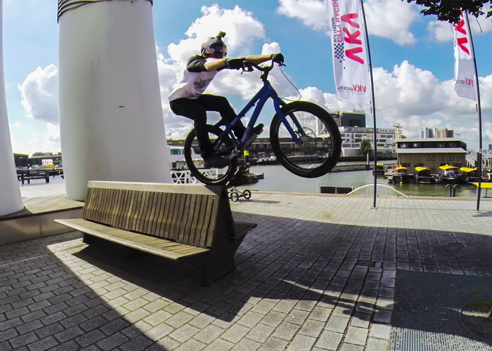 Watch Danny MacAskill Riding Rotterdam, Netherlands