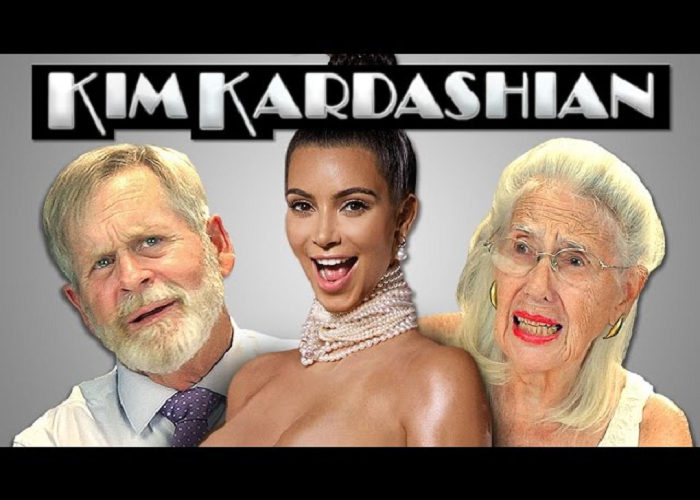 See How Elders React To Kim Kardashian