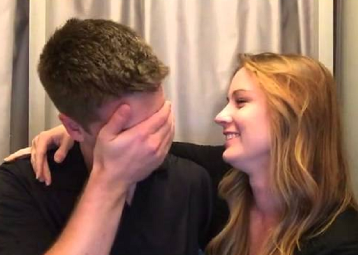 The Wife Surprises Her Husband With Pregnancy Announcement Inside A Photo Booth