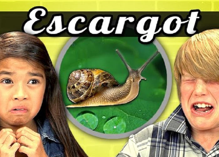 See How Kids React When They Are Presented With Escargot