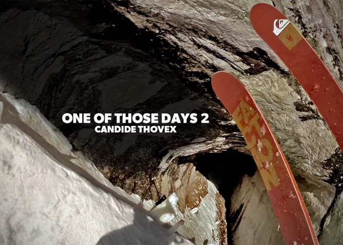 Watch Candide Thovex Skiing In A Breath-Taking Way
