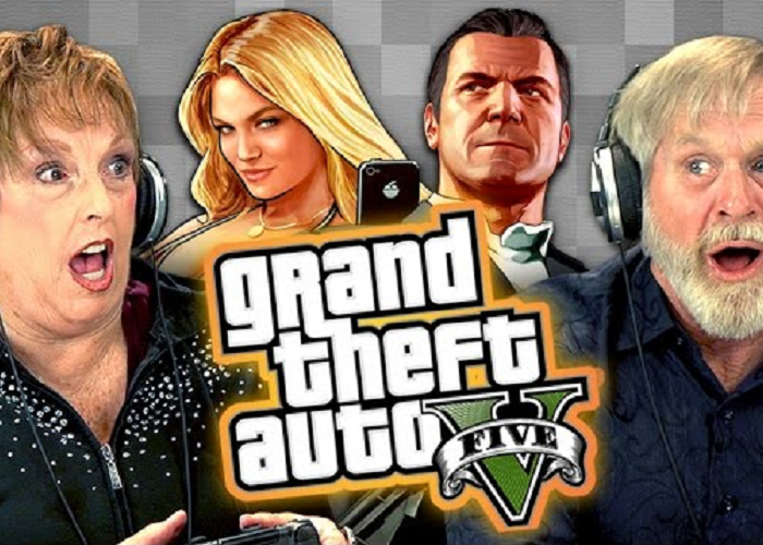 "See The Elders Reaction When They Play ""Grand Theft Auto V"""
