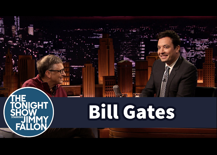 Watch Bill Gates And Jimmy Fallon Drink Water From Human Waste