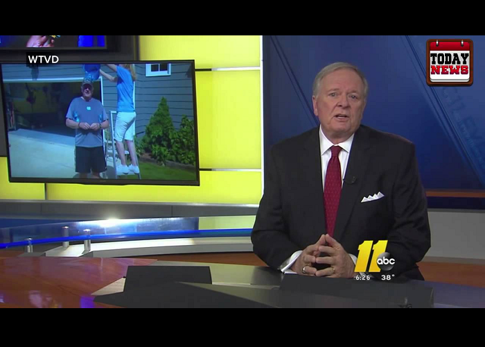 The News Reporter, Larry Stogner Retires On LIVE TV
