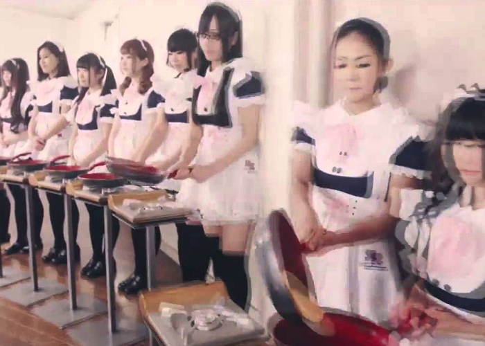 Watch 100 Sizzling Japanese Maids In Action - The FlavorStone TV Commercial