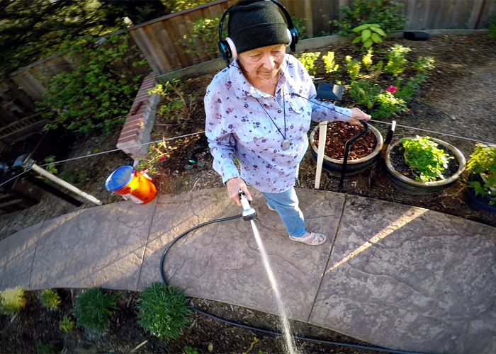 Watch This 91-Year-Old Lady As She Flies A Drone