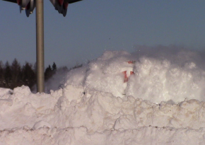 See How This Train Slams Through Huge Snow Drifts