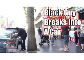 Is There A Difference Between A White Guy Trying To Break Into A Car vs A Black Guy?!