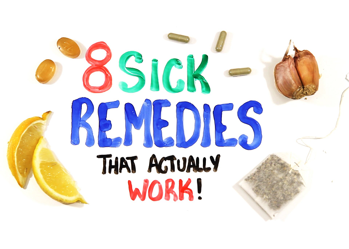 These Are 8 Sick Remedies That Actually Work