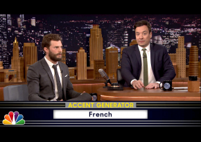 Watch Fifty Accents Of Grey With Jamie Dornan And Jimmy Fallon