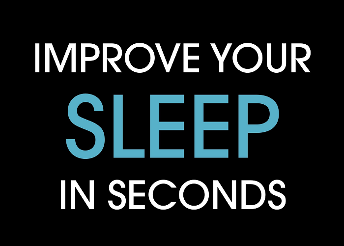 Here's How To Improve Your Sleep In Seconds