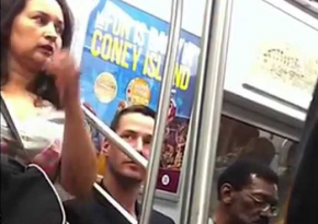 See Keanu Reeves Being A Classy Guy In NYC Subway