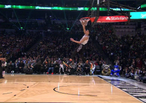 "Watch How Zach LaVine Throws Down The ""Space Jam"" Dunk"