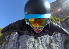 See This Majestic Wingsuit Flight In Switzerland