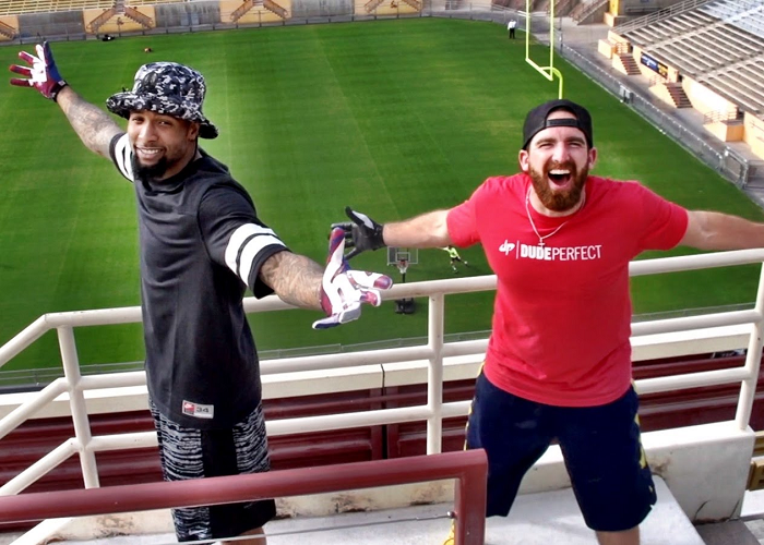 Enjoy The Super Bowl Edition By Dude Perfect